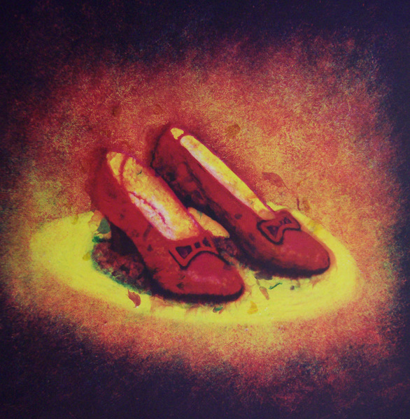 interpretation of the Wizard of Oz's ruby slippers